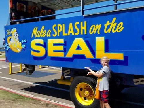 San Diego  California bus and boat SEAL Tour Booking