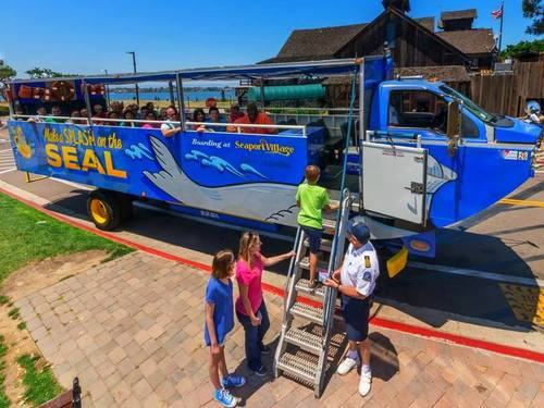 San Diego bus and boat SEAL Trip Booking