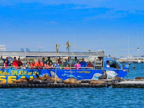 San Diego bus and boat SEAL Cruise Excursion Reservations