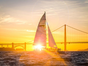 San Francisco Bay Sunset Sail Excursion