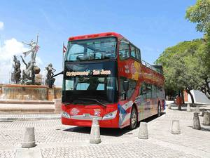 San Juan City Hop On Hop Off Bus Sightseeing Excursion