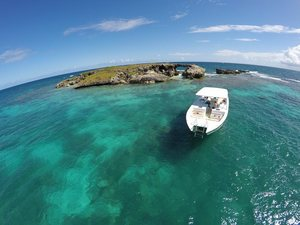 St. John's Antigua Power Catamaran Eco Snorkel Excursion