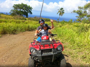St. Kitts ATV Fun Ride and Beach Break Excursion