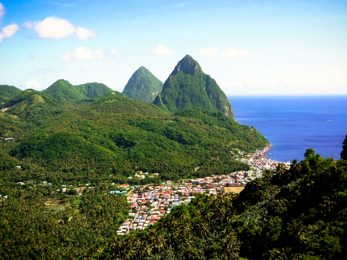 St. Lucia (Castries)  West Indies waterfall Tour Cost