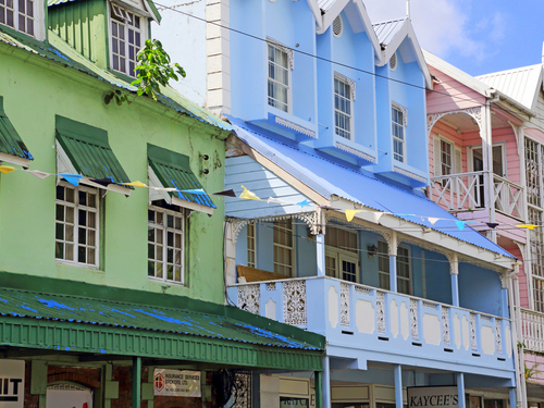 St. Lucia (Castries)  West Indies pigeon view Cruise Excursion Reservations