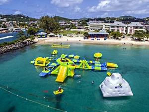 St. Lucia Ocean Splash Island Water Park Day Pass