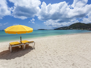 St. Maarten Beach Break at Grand Case Beach Excursion