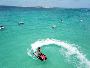 St. Maarten Jet Ski at Orient Bay Beach