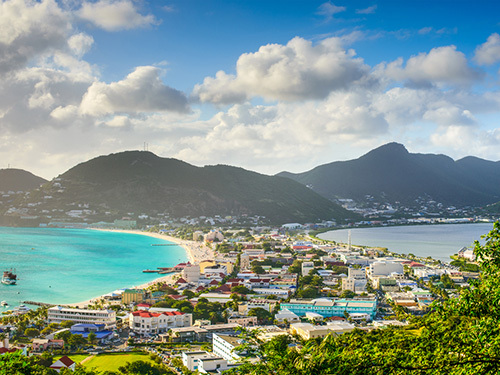 St. Maarten Netherlands Antilles (St. Martin) Mullet Bay Beach Jeep Shore Excursion Booking