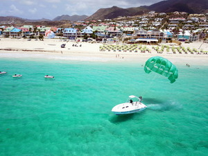 St. Maarten Parasailing at Orient Bay Beach