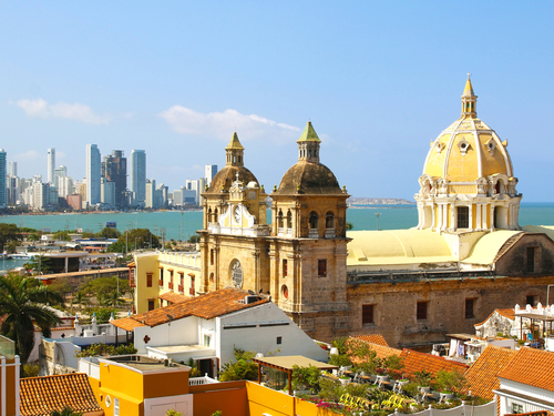 Cartagena city sightseeing Shore Excursion Reservations