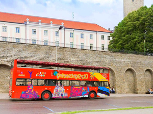 Tallinn Hop On Hop Off City Sightseeing Bus Excursion