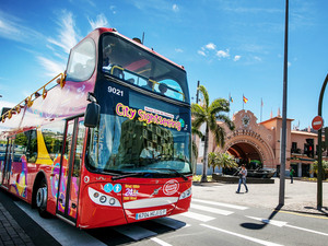 Tenerife Hop On Hop Off Santa Cruz City Sightseeing Bus Excursion
