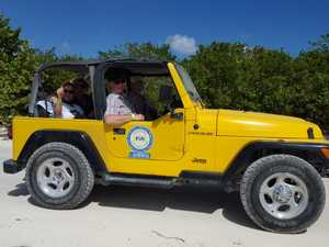 Ultimate Island Jeep, Punta Sur and Snorkel Excursion from Playa del Carmen