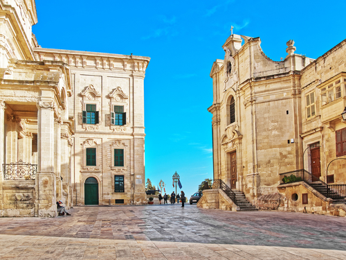 Valletta Paint Caravaggio Walking Tour Reservations