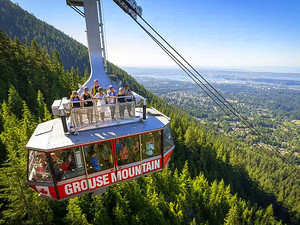 Vancouver Grouse Mountain and Capilano Suspension Bridge Excursion