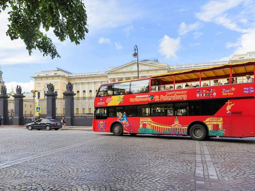 St. Petersburg hop on hop off bus Cruise Excursion Reservations