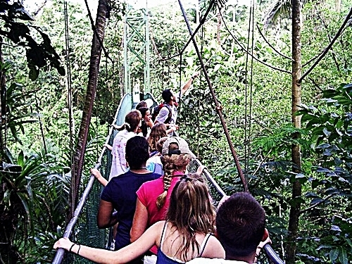 Puntarenas Costa Rica rain forest Shore Excursion Booking