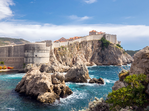Dubrovnik Croatia Orlando column Shore Excursion Reservations