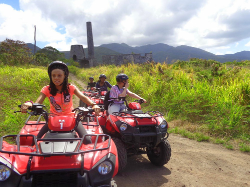 St. Kitts Basseterre All Terrain Vehicle Cruise Excursion Booking