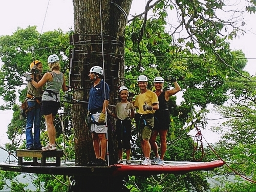 Puerto Limon Costa Rica canopy zip line Cruise Excursion Tickets