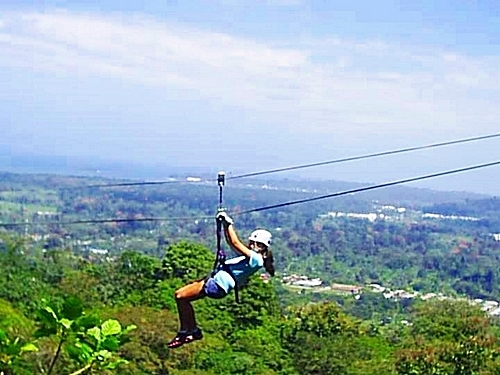 Puerto Limon Costa Rica canopy zip line Cruise Excursion Prices